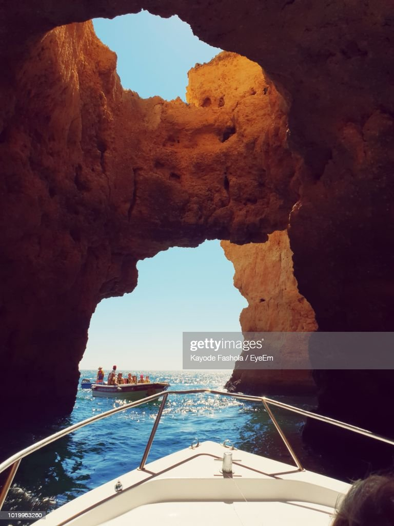Rock Formations In Sea : Stock Photo