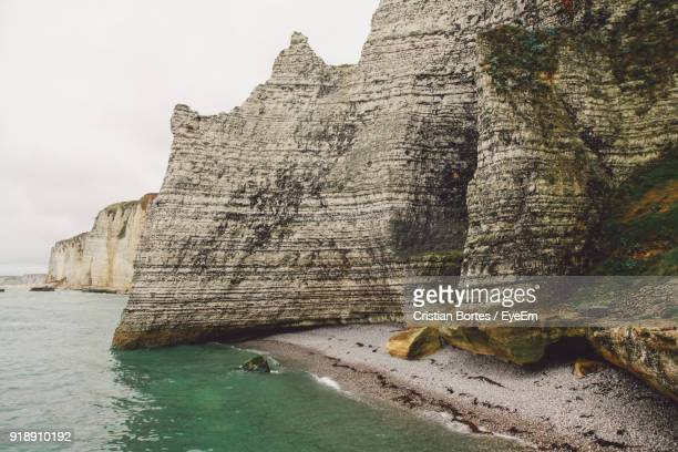 rock formations in sea - bortes stock photos and pictures