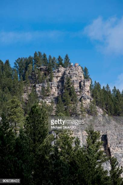 Rock formations in the Black Hills of South Dakota.