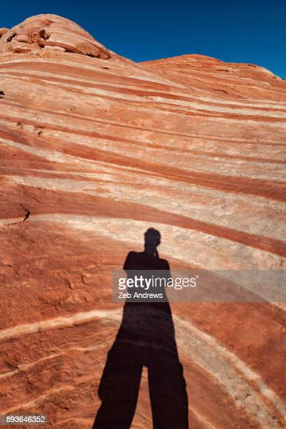 rock formations in valley of fire state park, nevada - nevada stock pictures, royalty-free photos & images