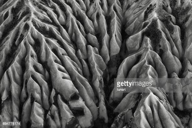 rock formations of cappadocia - natural pattern stock pictures, royalty-free photos & images