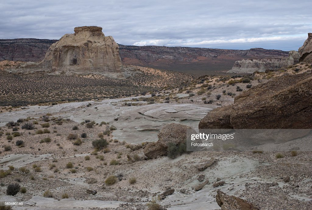 Rock formations on a landscape : Stock Photo