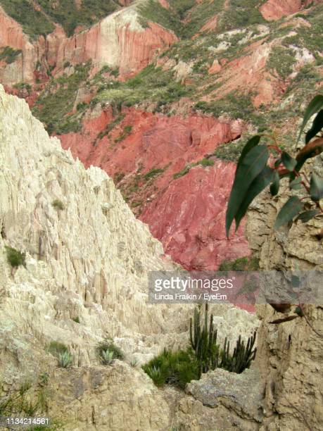 rock formations on landscape - linda fraikin stock pictures, royalty-free photos & images