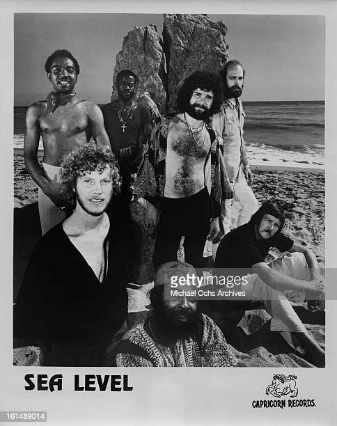 Rock fusion group Sea Level poses for a Capricorn records publicity shot in 1978