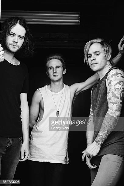 Rock group Cardboard Kids is photographed for Native Magazine on March 23 2016 in Nashville Tennessee