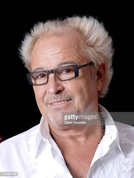 Rock group Foreigner founder/guitarist Mick Jones poses backstage at Route 66 Casino's Legends Theater on August 5 2006 in Albuquerque New Mexico The...