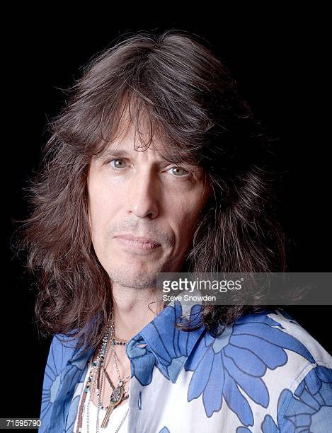 Rock group Foreigner lead singer Kelly Hansen poses backstage at Route 66 Casino's Legends Theater on August 5 2006 in Albuquerque New Mexico The...