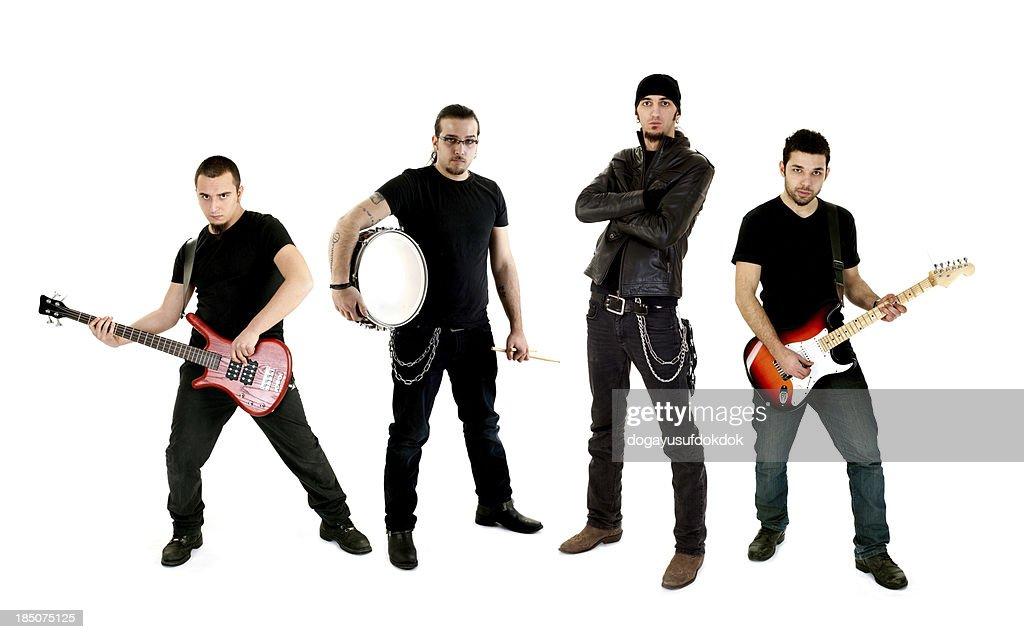 Rock Group : Stock Photo