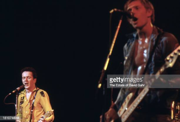 Rock group The Clash perform at The Palladium on February 17 1979 in New York City New York