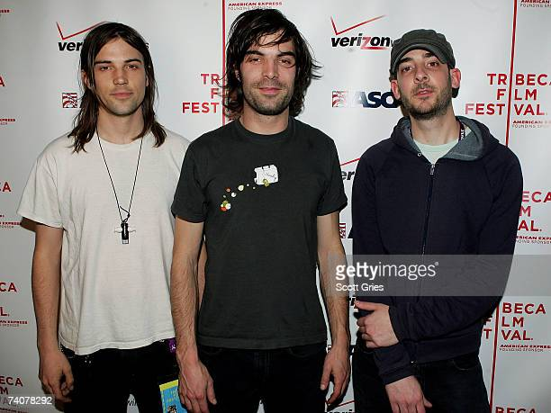Rock group The Slip pose for a photo at the ASCAP / Tribeca Music Lounge at the 2007 Tribeca Film Festival on May 4 2007 in New York City