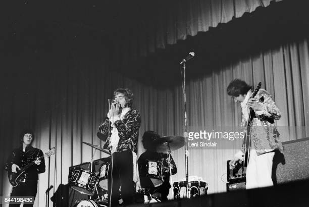 Rock Group The Who perform at Southfield High School near Detroit on November 22 1967