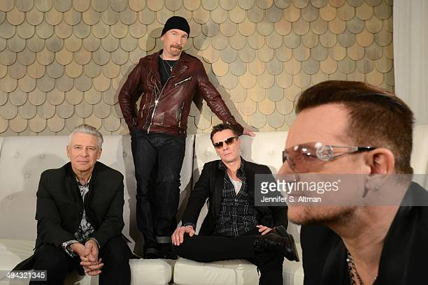 Rock group U2 is photographed for Los Angeles Times on December 7 2013 in New York City PUBLISHED IMAGE