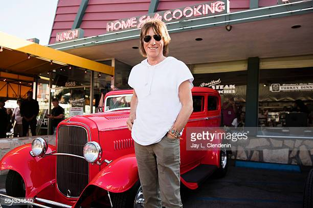 Rock guitar legend Jeff Beck is photographed for Los Angeles Times on August 8 2016 in Los Angeles California PUBLISHED IMAGE CREDIT MUST READ Jay L...
