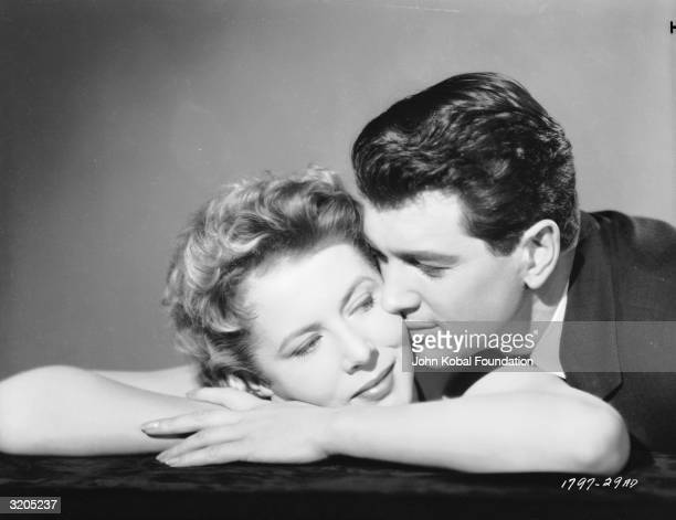Rock Hudson and Cornell Borchers try to save their marriage in 'Never Say Goodbye', directed by Jerry Hopper.