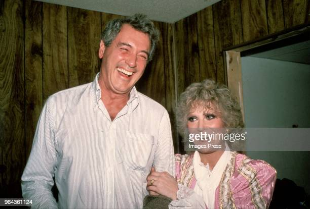Rock Hudson and Dusty Springfield circa 1980 in New York City