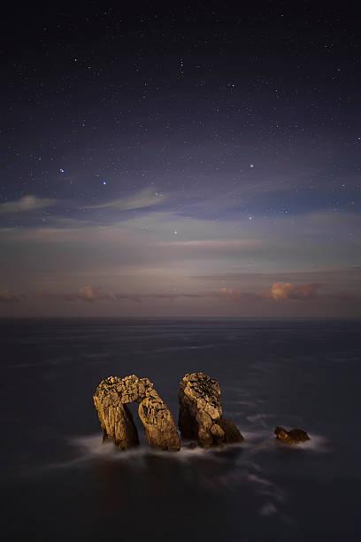 Rock in Cantabrian sea