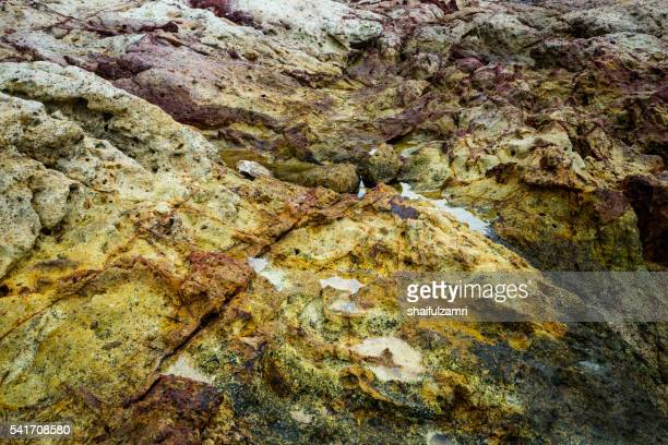 rock in sibu island of johor, malaysia - shaifulzamri stock pictures, royalty-free photos & images