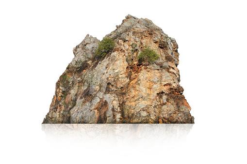 Rock isolated on white background 1156532602