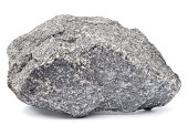Rock isolated on white