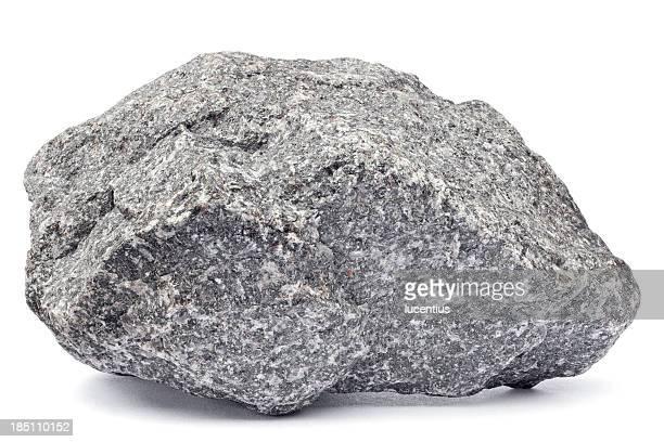 Rock Aislado en blanco
