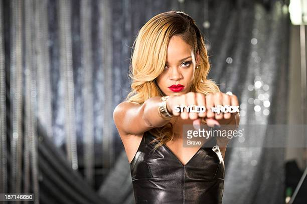 ROCK Rock it for Rihanna Episode 101 Pictured Host Robyn Rihanna Fenty