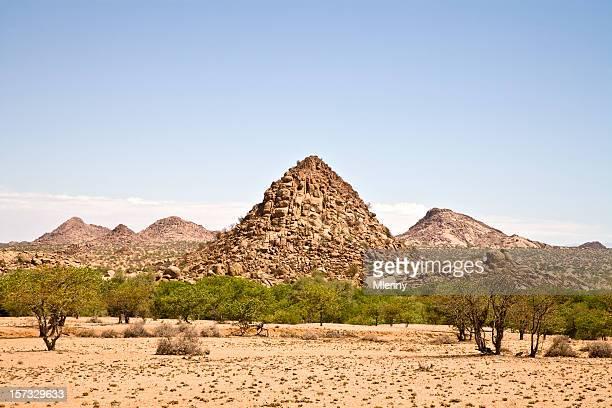 Mont Rock Mountain plots en Namibie