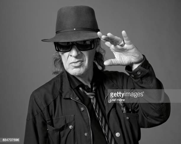 Rock musician and composer Udo Lindenberg on September 18 2015 in Hamburg Germany