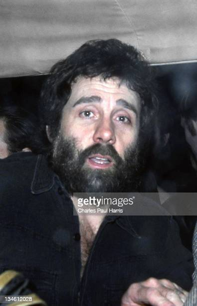 Rock 'n' Roll artist Jack Scott after performing at the Rainbow Theatre on April 30, 1977 in London, England.