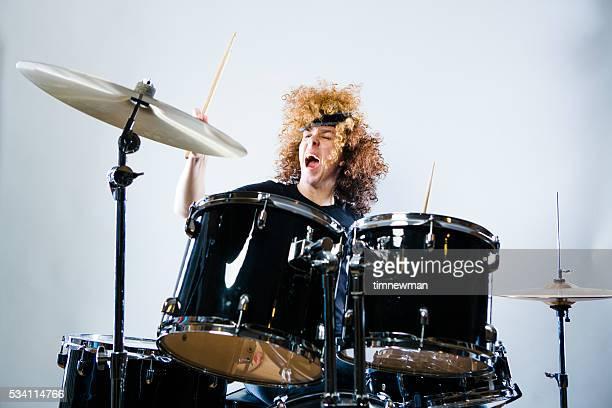 Rock ' n Roll-Drummer