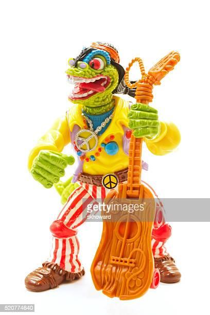 Rock N Rouleau Mondo Gecko de Chez les adolescentes hybridation Tortue Ninja