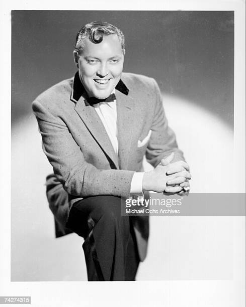 Rock 'N' Roll pioneer Bill Haley poses for a portrait circa 1956 in New York City New York