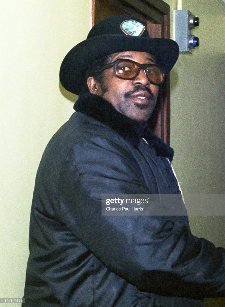 Rock 'N' Roll pioneer Bo Diddley at the BBC Radio London Studios on March 11, 1979 in London, England.