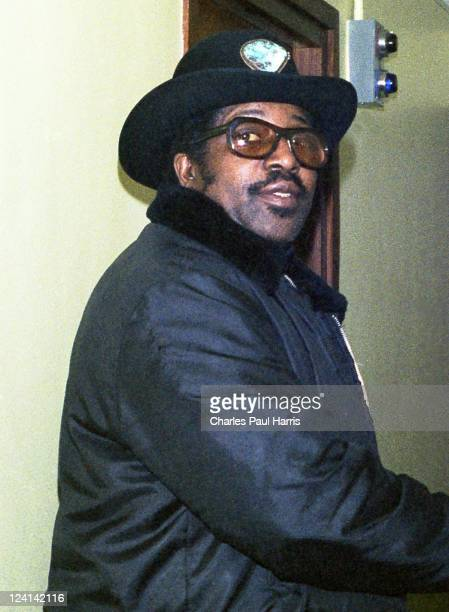 Rock 'N' Roll pioneer Bo Diddley at the BBC Radio London Studios on March 11 1979 in London England