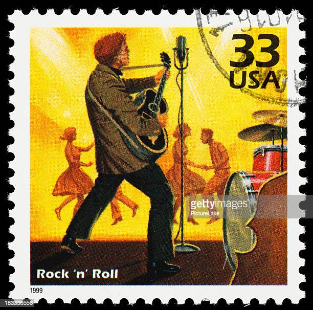 Rock 'n' Roll postage stamp