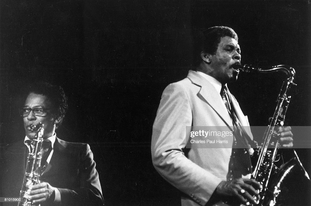 Lee Allen And Herb Hardesty : News Photo