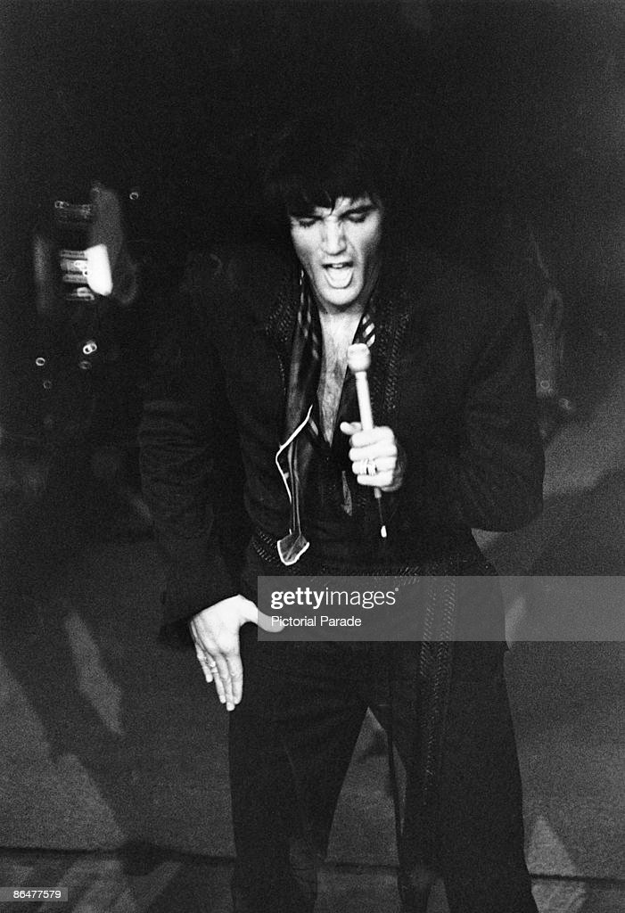 Elvis In Vegas : News Photo
