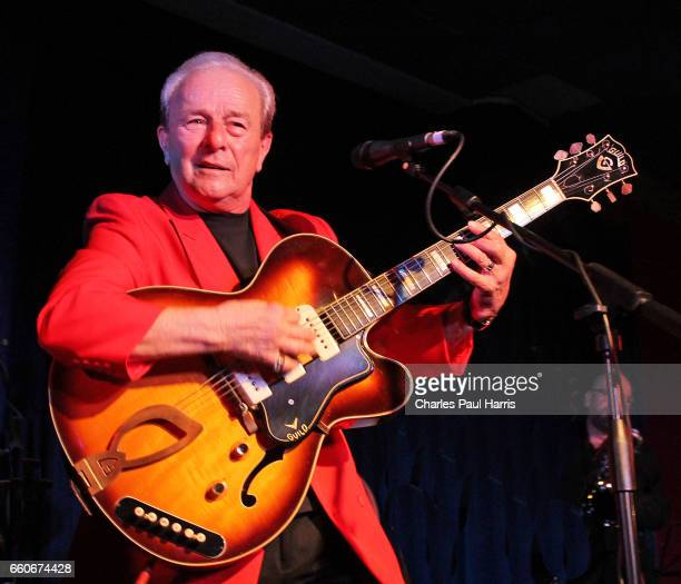 Rock 'n' roll, singer and guitarist Charlie Gracie performs at the Rhythm Riot weekender. NOVEMBER 14, 2014 at Camber Sands, East Sussex, England.