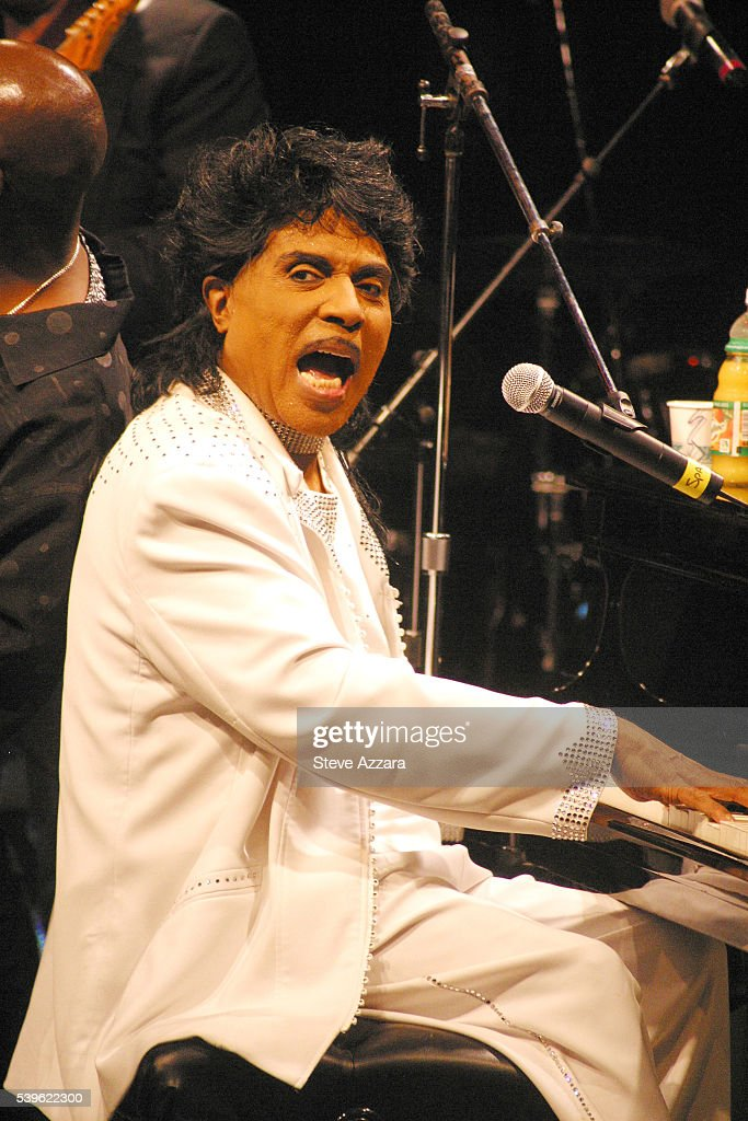 Rock n' Roll singer Little Richard performs in concert at the Westbury Music Fair.