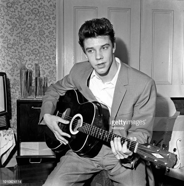 Rock 'n' Roller Marty Wilde 28th March 1958