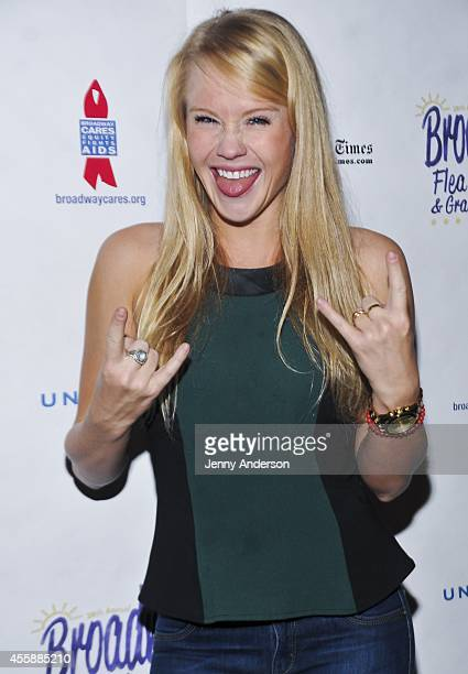 'Rock of Ages' star Carrie St Louis attends the 28th Annual Broadway Flea Market Grand Auction at Booth Theatre on September 21 2014 in New York City