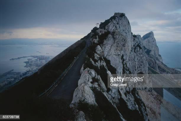 rock of gibraltar - ジブラルタルの岩山 ストックフォトと画像