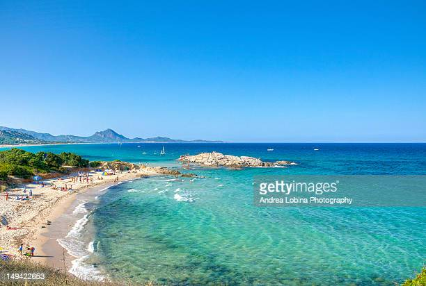 rock of peppino - cagliari stock pictures, royalty-free photos & images