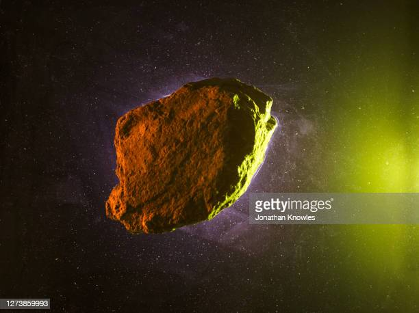 rock on starry background - space and astronomy stock pictures, royalty-free photos & images