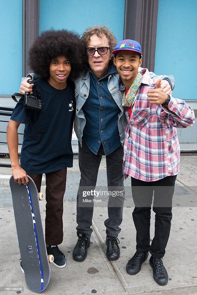 Celebrity Sightings In New York City - October 17, 2013