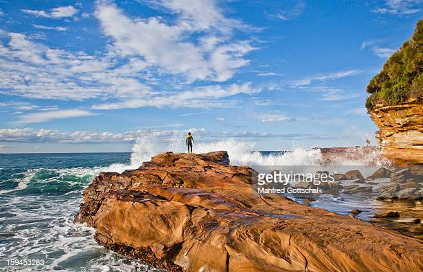 Rock platform Avoca Beach