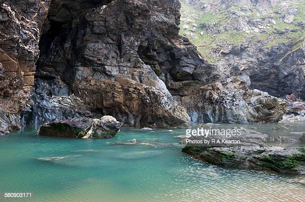 Rock pool at Bedruthan steps, Cornwall