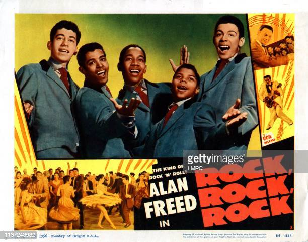 Rock poster Frankie Lymon and the Teenagers 1956