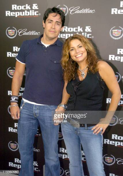 Rock Republic designer Michael Ball and owner Andrea Bernholtz