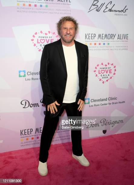 """Rock & Roll Hall of Fame inductee Sammy Hagar attends the 24th annual Keep Memory Alive """"Power of Love Gala"""" benefit for the Cleveland Clinic Lou..."""