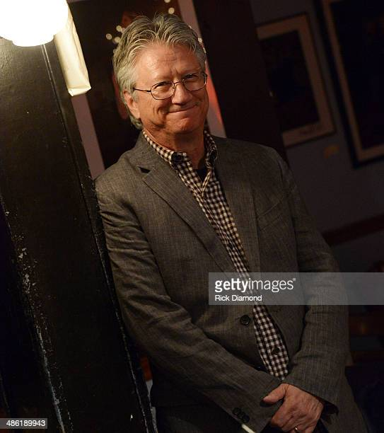 Rock Roll Hall of Fame member Richie Furay during the SoundExchange Influencers Series launch at Bluebird Cafe on April 22 2014 in Nashville Tennessee